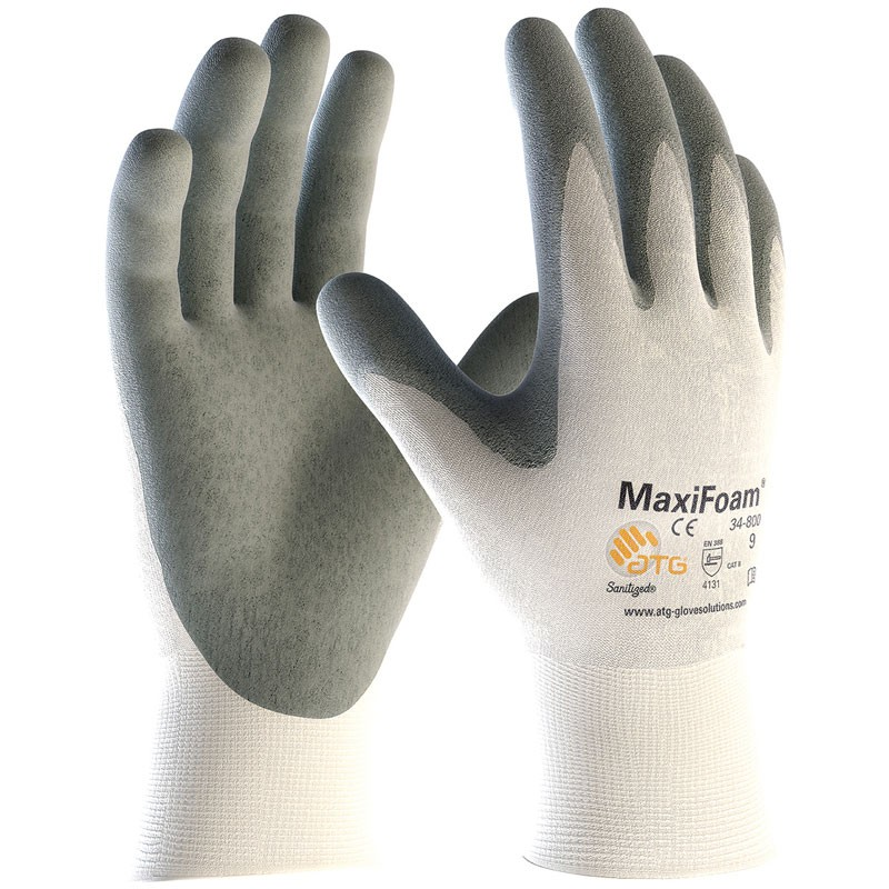 Maxi-Foam® Premium Foam Nitrile Coated Gloves - Large