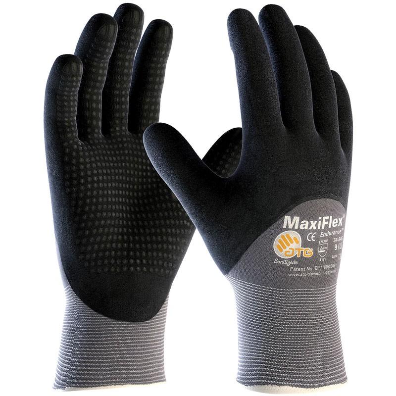 MaxiFlex® Micro-Foam Nitrile Coated Gloves with Dots - Medium