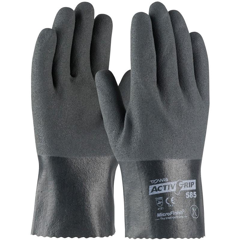 AG585-M MEdium Activity Grip Nitrile Coated Nylon Gloves
