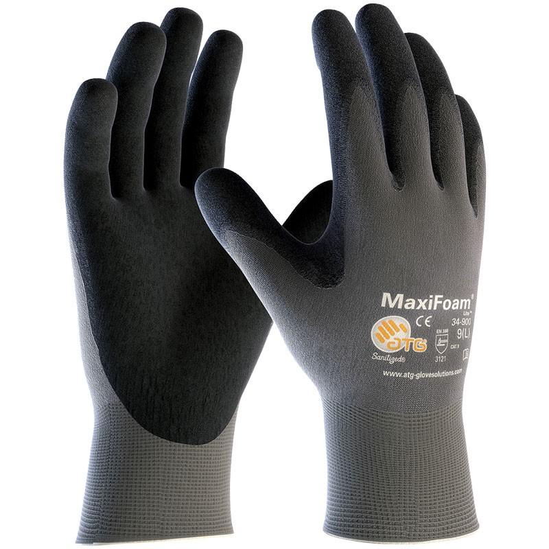 MaxiFoam™ Lite Foam Nitrile Coated Gloves - Medium