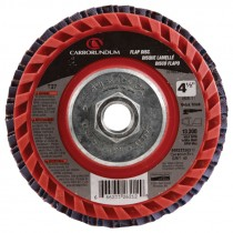 4 1/2 X 5/8-11 40# T27 Premier Quick Trim Flap Disc-Red