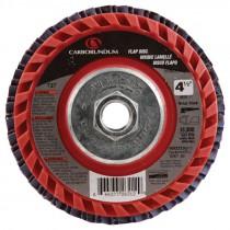 4 1/2 X 5/8-11 60# T27 Premier Qick Trim Flap Disc-Red