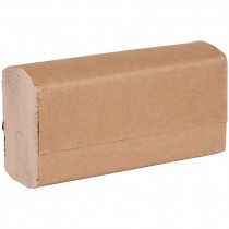 "9-1/4"" x 9-1/2"" VonDrehle® Preserve® Multi-Fold Paper Towels, Box of 16 Packs of 250 Towels"