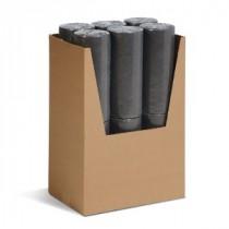 """15"""" x 50' Universal Fine Fiber Sorbent Roll, Light Weight"""