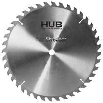 "10"" x 1"" 40T Nail Shredder Carbide Blade"