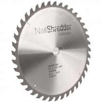 "12"" x 1"" 40T Nail Shredder Carbide Blade"