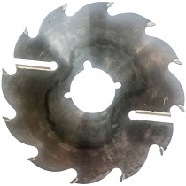 "12"" x 2-15/16"" x 12 Tooth, .085"" Plate, 3 Keyways, Carbide Tipped Strob Saw Blade"