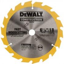 "6-1/2"" 18 TPI Dewalt® Carbide Tip Circular Saw Blade"
