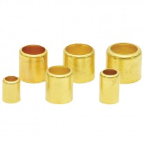 ".725 MM ID. x 1"" Length Brass Air Hose Ferrule"