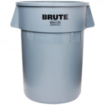 Gray Rubbermaid® Brute® Trash Can - 44 Gal.