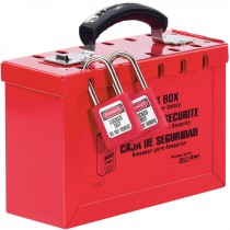 12-SLOT STEEL LOCK BOX