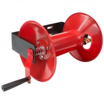Hand Crank Air Hose Reel, 100' Capacity (Hose Not Included)