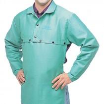 """20"""" Green Cotton Bib Attachment"""