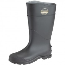 Size 8 Steel Toe Rubber Boot