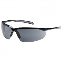 Bouton Commander Safety Glasses, Smoke - Anti Fog