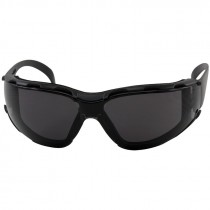 ZENON Z12 FOAM SAFETY GLASSES BLACKFRAME/SMOKE LENS