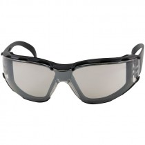 ZENON Z12 FOAM SAFETY GLASSES BLACKFRAME/INDOOR/OUTDOOR LENS