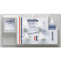 Uvex® Refillable Wall Mount Lens Cleaning Station