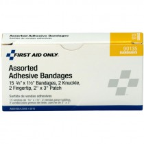 Assorted Bandages, Plastic
