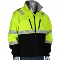 Class 3 Ripstop Black Bottom Premium Softshell Jacket, Medium