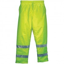 "Insulated Elastic Waist Pants, Hi-Vis Yellow, 2-XL (32.75"" Inseam)"