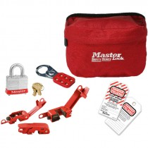 Lockout Pouch Kit, Bilingual English/Spanish, Electrical Focus