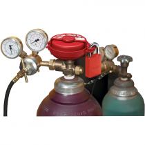 Pressurized Gas Valve Lockout Device