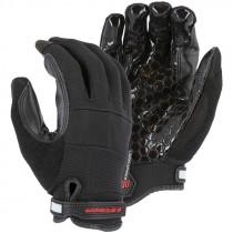 2126BK/XL X30 X-Large Silicon Coated Velcro Mechanics Gloves