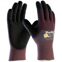 MaxiDry® Ultra Lightweight Liquid Resistant Nitrile Coated Gloves, Large