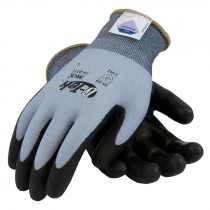 19-D318-M DYNEEMA DIAMOND TECHNOLOGY CUTRESISTANT GLOVES W/ POLYURETHANE COATING MED