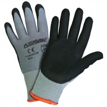 715SNFTP-XXL POSIGRIP NITRILE COATED  GRAY NYLON SHELL GLOVES EXTRA EXTRA LARGE