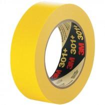 48mm x 55m 3M™ 301+ Performance Masking Tape, 6.3 Mil, Yellow