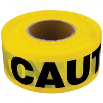 "3"" x 1,000' Yellow Caution Tape"