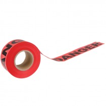 "3"" x 1,000' Red Danger Tape"