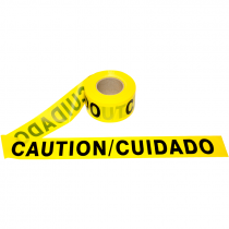 3 IN X 1000 FT  CAUTION/CUIDADO TAPE2.0 MIL