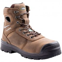 Marshal Work Boot, Composite Toe, Puncture Resistant Sole, Brown, Men's Size 8.5