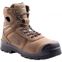 Marshal Work Boot, Composite Toe, Puncture Resistant Sole, Brown, Men's Size 9