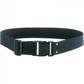 2 IN.  ADJUSTABLE WORK BELT BLACKPOLYESTER W/ HD QUICK RELEASE BUCKLE 
