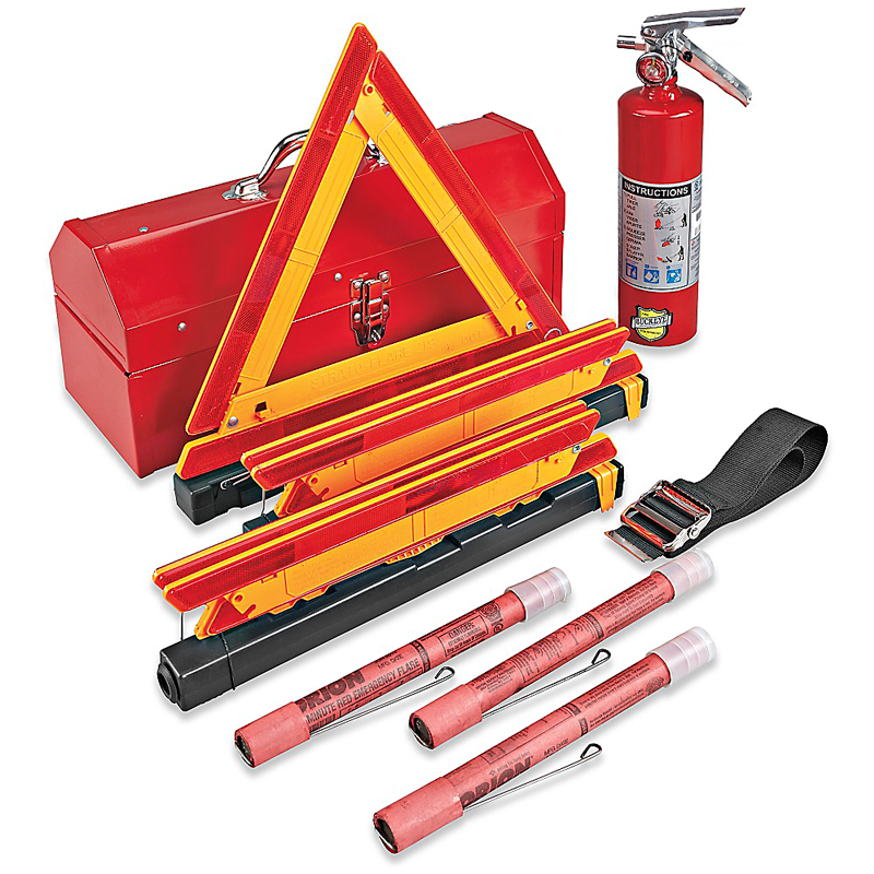 Fleet Safety Kit W/ Metal Case