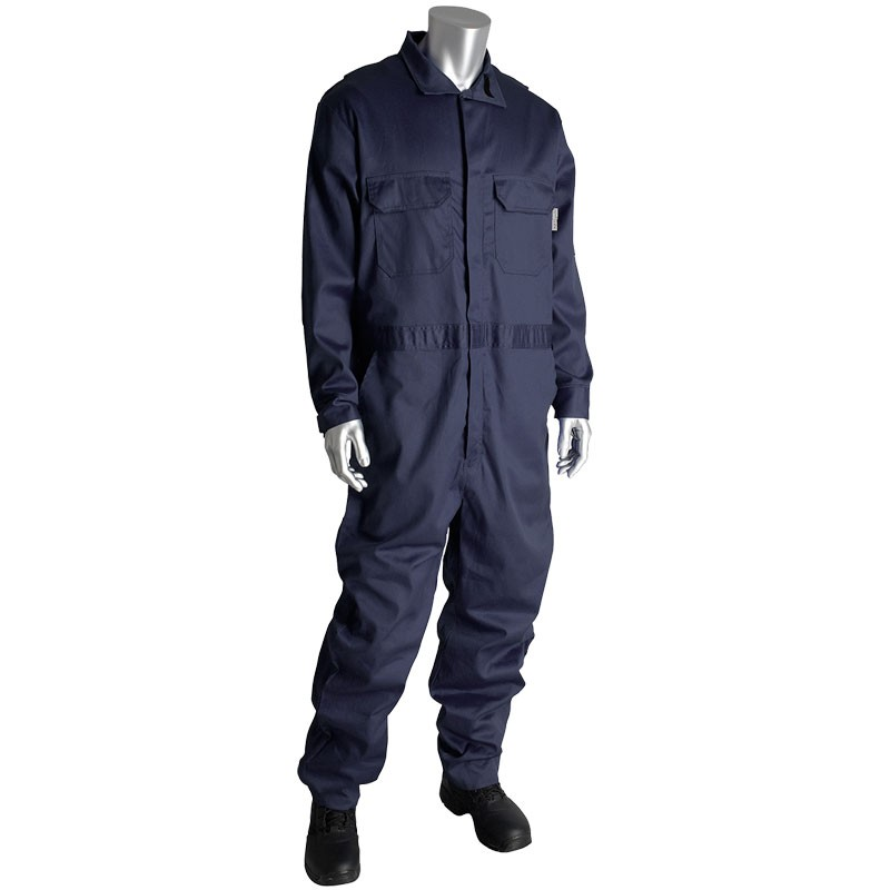 5X-Large AR/FR Dual Certified Coverall with Zipper Closure - 9.2 Cal/cm2