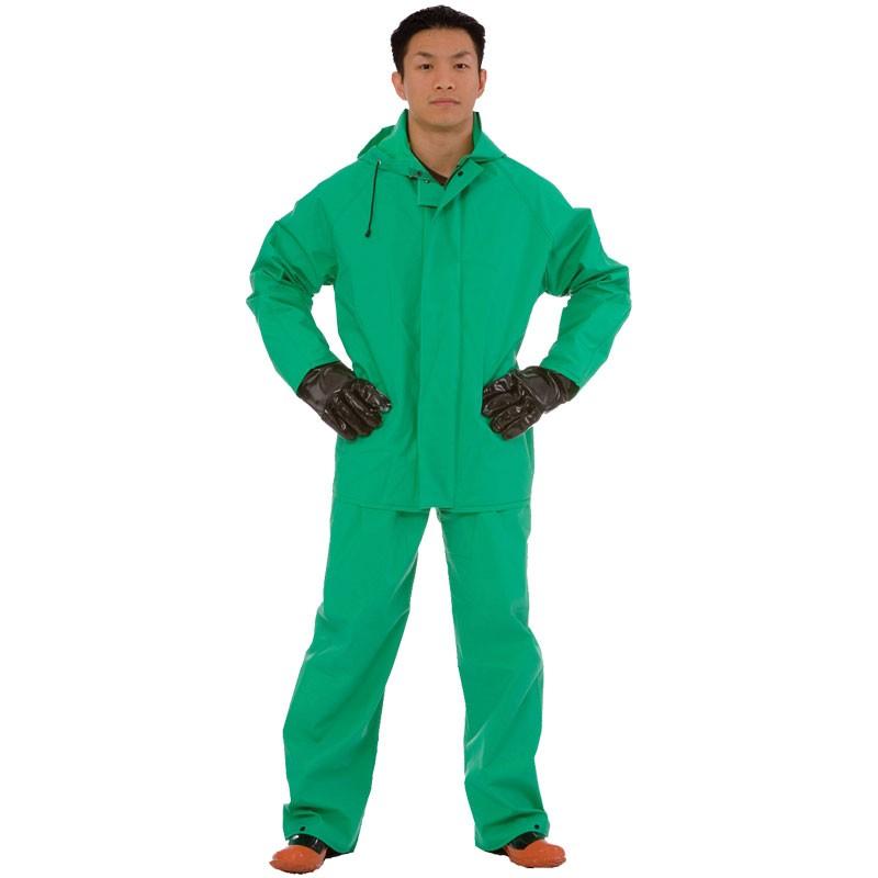 2-Piece Acid / Chemical Suit, 5-XL