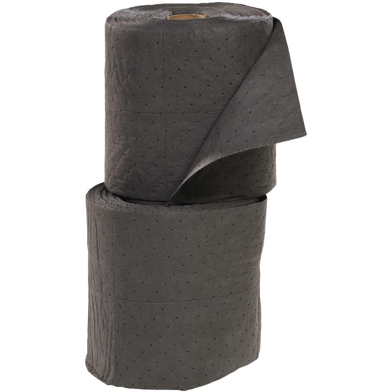 "15"" x 150' Universal Fine Fiber Sorbent Roll, Medium Weight"