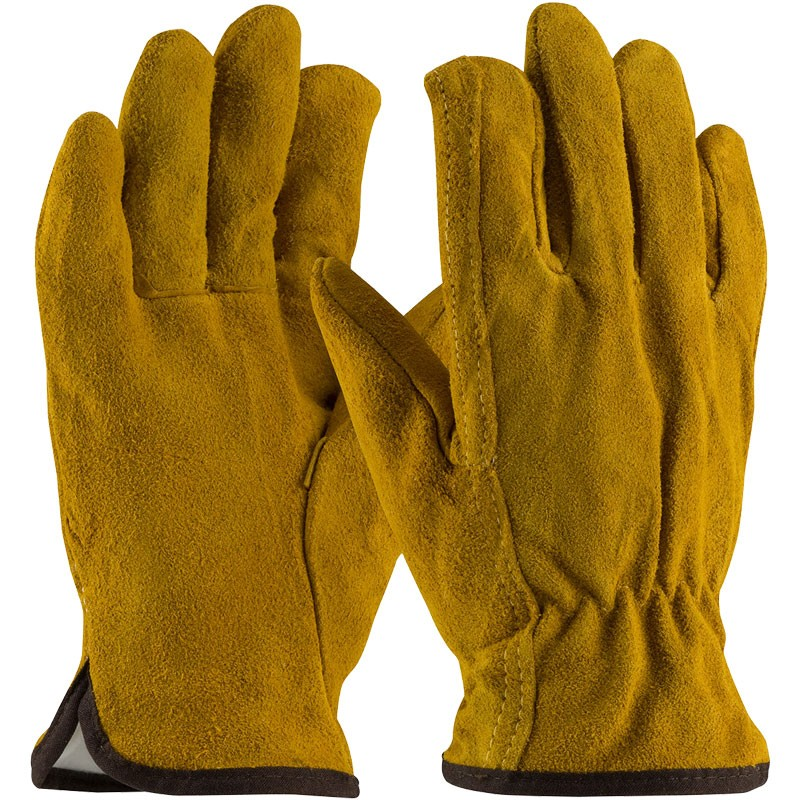Split Cowhide Thermal Lined Drivers Glove, Large