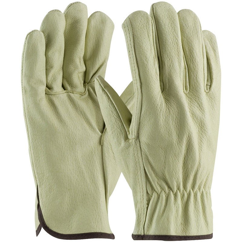 301-L  Unlined Pigskin Large Drivers Gloves