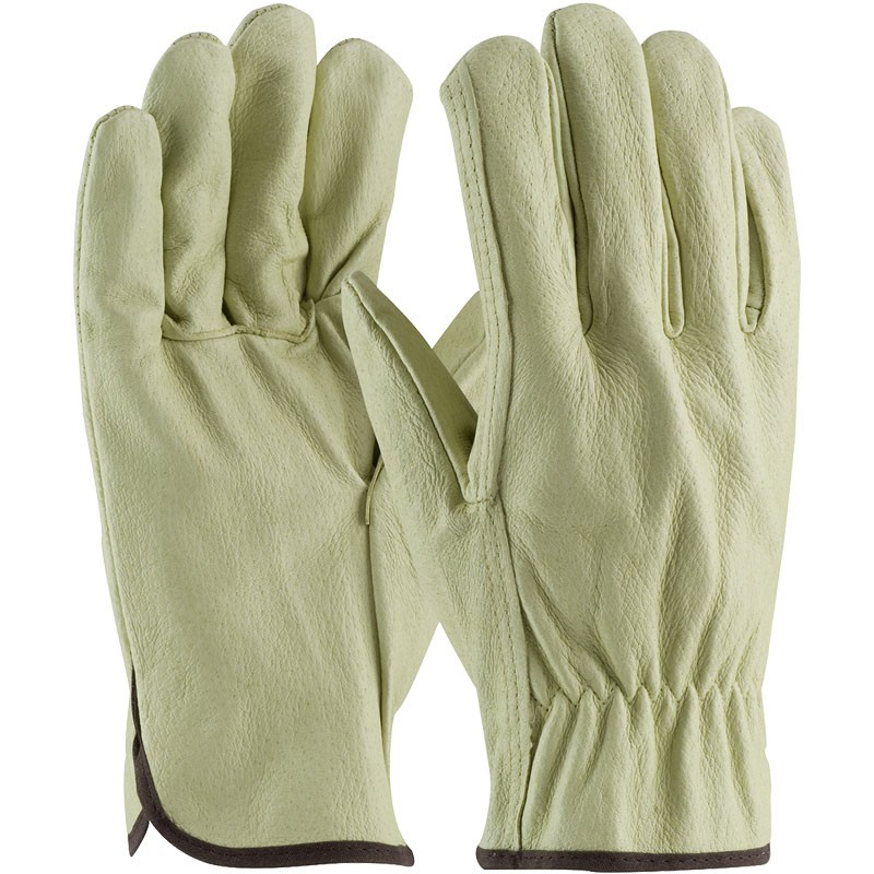 301-M Unlined Pigskin Medium Drivers Gloves