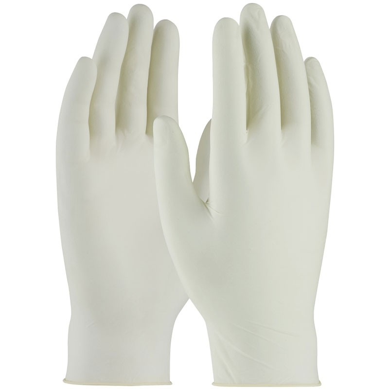 5 Mil Powdered Latex Examination Gloves, Large