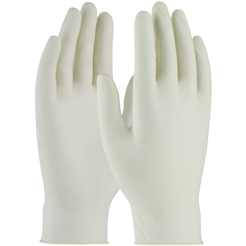 5 Mil Powdered Latex Examination Gloves, Medium