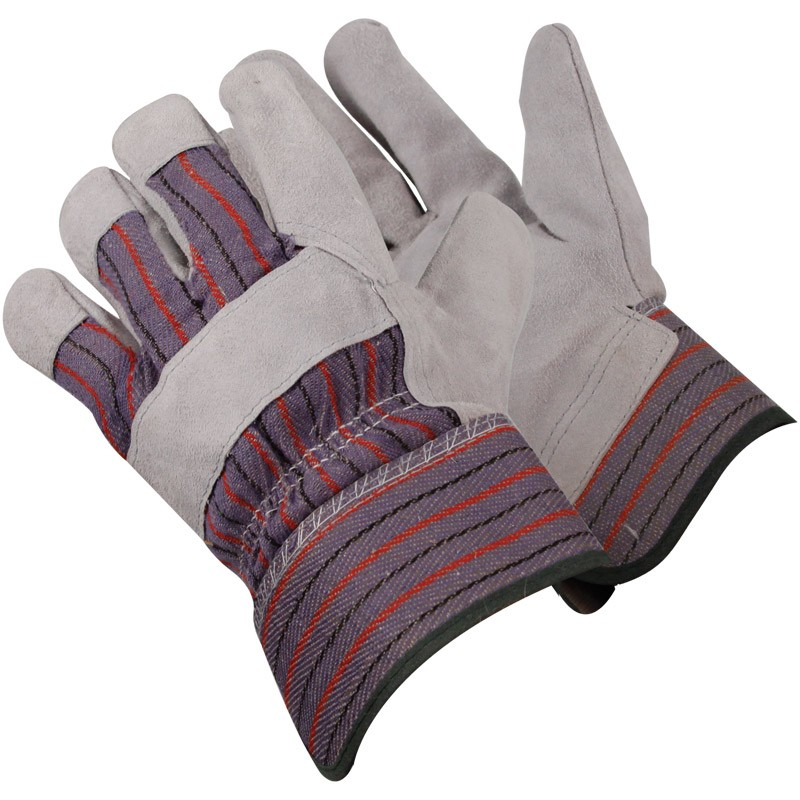 7250R-M SELECT LEATHER PALMCANVAS BACK GLOVE