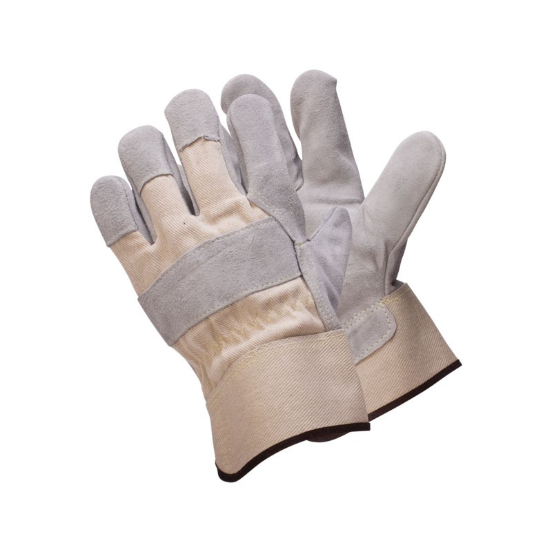 3220-XL X-Large Leather Palm Canvas Backed Kevlar Stitched Single Palm Glove