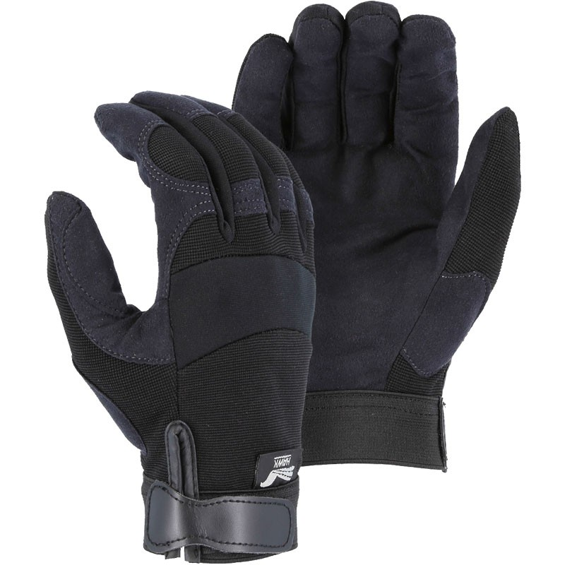 ARMORSKIN™ Synthetic Leather Mechanics Glove - Large